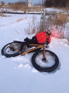John bike fall