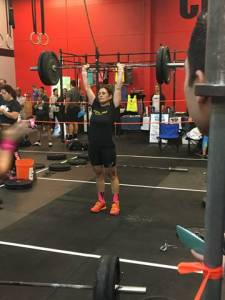 Stella cross fit competition