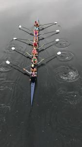 Stella rowing