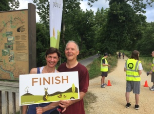 parkrun with husband Michael (1)