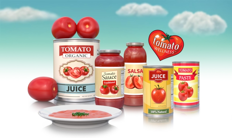 Tomato Wellness Line Up