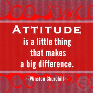 churchill quote on attitude