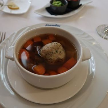Soup with Beef Broth