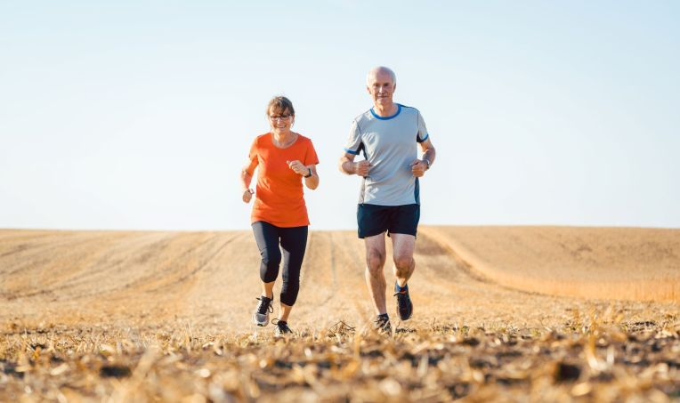 iStock-Older couple running